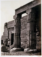 Portico of the Temple of Goorneh, Thebes