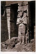 Osiride Pillars at Medinet-Haboo- Thebes