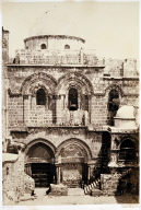 Entrance of the Church of the Holy Sepulchre