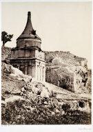 Absalom's Tomb, Jerusalem