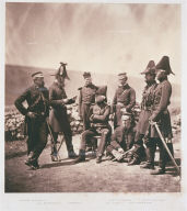 Lieu.t Gen.l Sir George Brown & Staff