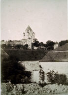 Provins, view with cathedral