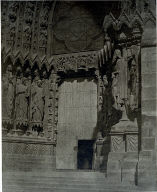 Reims Cathedral, facade, south portal