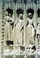 Strasbourg Cathedral, Jamb Statues