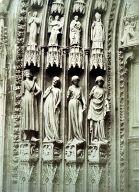 Strasbourg Cathedral jamb figures