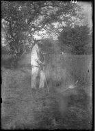 Farmer with Sickle