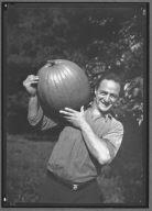 Man with Pumpkin