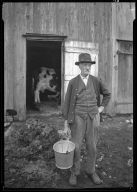 Farmer with Pail