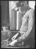 Boy with Crafts