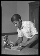 Young Man Carving