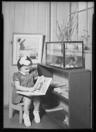 Child with Picture Book