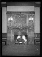 John Paul Herren Mem. Fireplace Plaque
