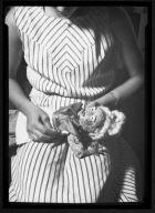 Woman Making Doll