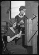 Two Women with Small Loom