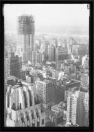 View of Empire State Construction
