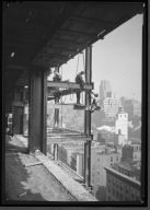 Worker on Empire State