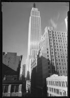 View of Empire State from Street