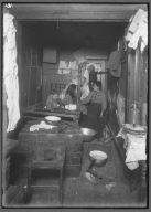 Small, Crowded Tenement Home NYC 1910