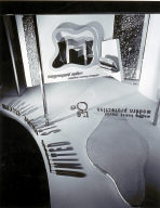 U.S. Gypsum exhibit stand designed by Moholy-Nagy and
