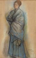 Portrait of Hélène Rouart (Femme en Bleu)