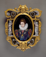 Plaque: Portrait of the Duchesse de Montpensier