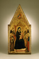Virgin and Child with Sts. Louis of Toulouse and Michael, and Angels