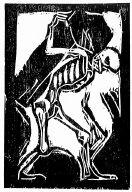 [Tod mit Sarg, Deluxe edition, 2, no. 9 (1918), frontispiece, Das Kunstblatt, Death with coffin]