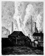 [4, no. 1 (1898), following page 20, Pan, Hochöfen, Blast furnaces]