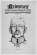 [Heerfuhrer im Osten, Kriegszeit, no. 56 (1 November 1915), page 1, Army commander in the east]