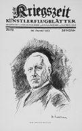 [Kriegszeit, no. 58 (beginning-December 1915), page 1, Ulrich von Wilamowitz-Mollendorff]