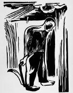 [Reaper in the field, Mäher im Feld, Holzschnitte niederheinischer Künstler, plate 9]