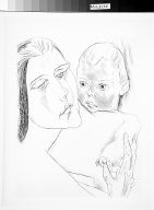 [Mother and child, Mutter und Kind, Genius, vol. 1, no. 2 (1919), following page 296]