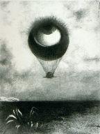 To Edgar Poe; The Eye, Like a Strange Balloon, Moves TowardsInfinity (A Edgar Poe: L'oeil, comme un ballon bizarre se dirigevers l'infini)