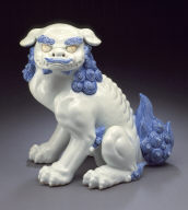 Seated Chinese lion