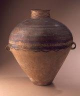 Storage Jar (Hu) with Horizontal Ribs