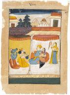 Folio from a Ragamala Album: Sri Raga