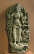 Durga Slaying the Buffalo Demon