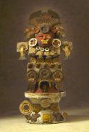Censer of Fire God Quetzalpapalotl