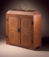 Miniature Scholar's Cabinet (Wenfang Wangui) with Four Drawers