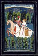 Baz Bahadur and Rupmati Hunting