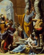 Saint Peter Preaching in Jerusalem