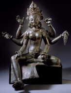 The Goddess Vasudhara (Goddess of Wealth and Plenty)