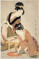 Preparing Raw Fish