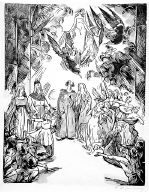 [The Winter's Tale, Shakespeare Visionen, Wintermärchen, plate 21]