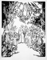 [The Winter's Tale, Shakespeare Visionen, Wintermärchen, plate 36]