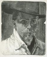 [Portrait of Richard Dehmel, Bildnis Richard Dehmel]