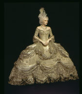 Movie Costume for Norma Shearer in MGM Production 'Marie Antoinette'
