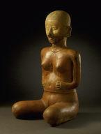 Kneeling Female Figure