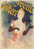 [Proof before letters 'au Concert Parisien', Yvette Guilbert au Concert Parisien]