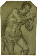 Study of a Supplicant Male Figure